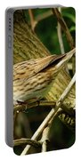 Dunnock In A Hedgerow Portable Battery Charger