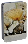Dunr Fox Father And Child Portable Battery Charger