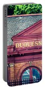 Duquesne Incline Of Pittsburgh Portable Battery Charger by Lisa Russo
