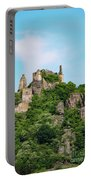 Durnstein Castle And Stone Outcroppings Portable Battery Charger