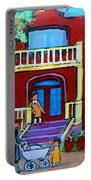 Durocher Street Montreal Portable Battery Charger