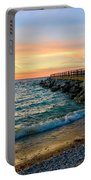 Dusk In Charlevoix Portable Battery Charger