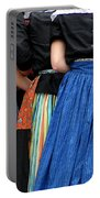 Dutch Dancers In A Huddle Portable Battery Charger
