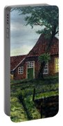 Dutch Farm At Dusk Portable Battery Charger