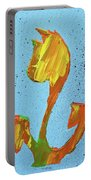 Dutch Pride Yellow And Orange Portable Battery Charger