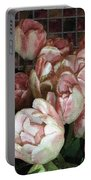 Dutch Tulips Dutch Tile Portable Battery Charger