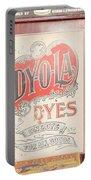 Dy-o-la Dyes Portable Battery Charger