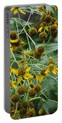 Dying Sun Flowers Portable Battery Charger