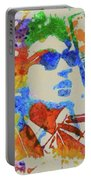 Dylan Watercolor Portable Battery Charger