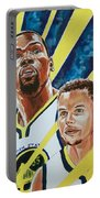Dynamic Duo - Durant And Curry Portable Battery Charger