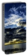 Dynamic Sunset Portable Battery Charger