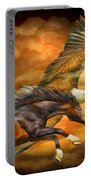 Eagle And Horse - Spirits Of The Wind Portable Battery Charger