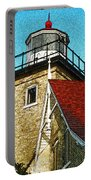 Eagle Bluff Lighthouse Re-imagined Portable Battery Charger