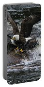 Eagle Catches Fish Portable Battery Charger