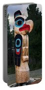 Eagle Clan Totem Pole Portable Battery Charger