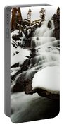 Eagle Falls Raging On Ice Portable Battery Charger
