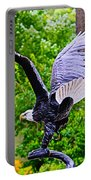 Eagle In The Garden Portable Battery Charger