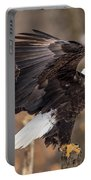 Eagle Landing On Perch Portable Battery Charger