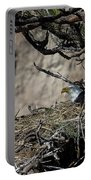 Eagle On The Nest, No. 3 Portable Battery Charger