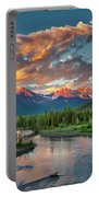 Eagle River Sunset  Portable Battery Charger