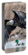 Eagle With Lunch Portable Battery Charger