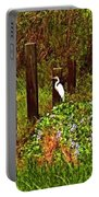 Egret And Heron Portable Battery Charger