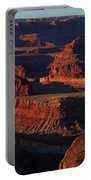 Early Morning Light Hits Dead Horse Point State Park Portable Battery Charger