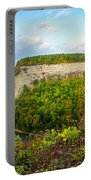 Early Autumn At Genesee River Canyon New York Portable Battery Charger