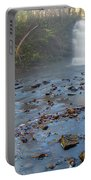 Early Autumn At Pixley Falls Portable Battery Charger