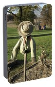 Early Autumn Scarecrow Portable Battery Charger