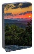 Blue Ridge Parkway Sunrise - Beacon Heights - North Carolina Portable Battery Charger