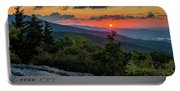 Blue Ridge Parkway Sunrise - Beacon Heights - North Carolina Portable Battery Charger