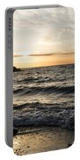 Early Lakeside - Waves Sand And Sunshine Portable Battery Charger