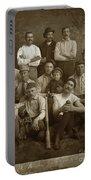 Early Monterey Baseball Team Circa 1895 Portable Battery Charger