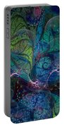 Early Morning Dew Sparkles Portable Battery Charger