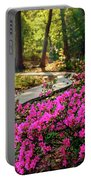 Early Morning In Honor Heights Park Portable Battery Charger