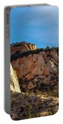 Early Morning In Zion Canyon Portable Battery Charger