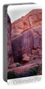 Early Morning Mystery Valley Colorado Plateau Arizona 04 Text Portable Battery Charger