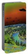 Early Morning Thoughts Portable Battery Charger