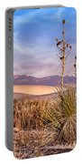 Early Morning Yucca - White Sands - New Mexico Portable Battery Charger