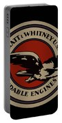 Early Pratt And Whitney Company Logo Portable Battery Charger