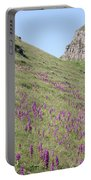 Early Purple Orchids In The Derbyshire Dales Portable Battery Charger