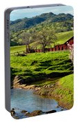 Early Spring In The Valley Portable Battery Charger