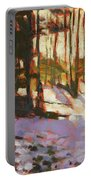 Early Spring Near Hyak Portable Battery Charger