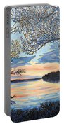 Early Spring Sunset Portable Battery Charger