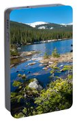 Early Summer At Finch Lake Portable Battery Charger
