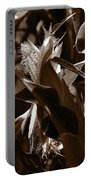 Ears To You Corn - Sepia Portable Battery Charger