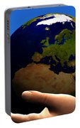 Earth Globe Portable Battery Charger