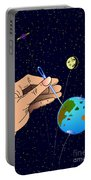 Earth Like An Inflatable Balloon Portable Battery Charger