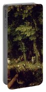 Earth Or The Earthly Paradise Portable Battery Charger by Jan the Elder Brueghel